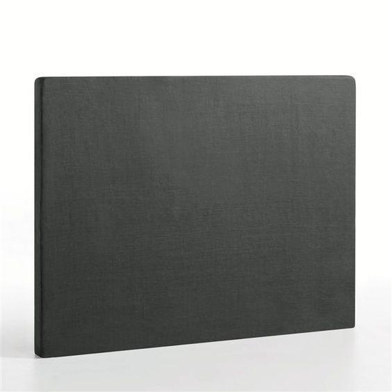 Housse de tête de lit pur lin STADIA, hauteur 120 cm AM.PM
