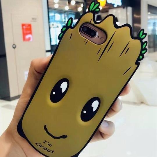 coque iphone 8 baby groot