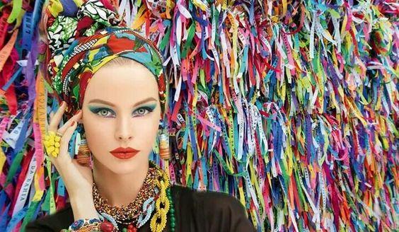 Anonymous photography - turban fashion