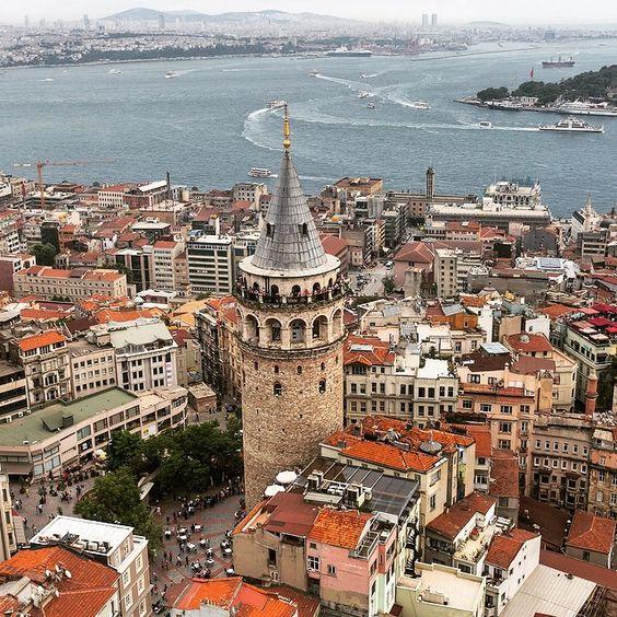Galata Tower  -  Istanbul  Turkey