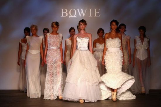 I saw this Bowie collection last night @MBFF Sydney.  It was exquisite.  Australia Fashion Week 2012 - #fashion #bowie #mbff #white