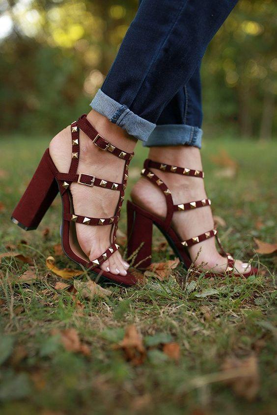 Encounter Studded Heel