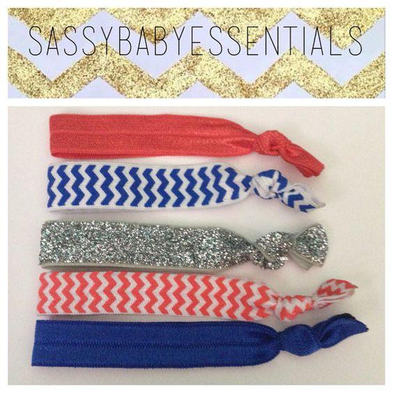 Florida Gators // GameDay HairTies by sassybabyessentials on Etsy, $6.50