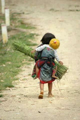 E ainda temos a coragem de acharmos que nossa vida é difícil!: