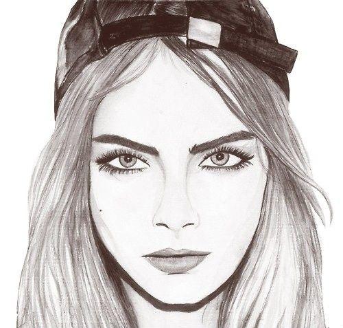 Thug girl drawing | Drawings