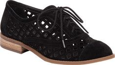 Women's Jessica Simpson Dalasia Oxford - Black Lux Kid Suede with FREE Shipping…