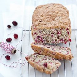 Quick and easy, this Cranberry Nut Bread marries tart and sweet with a touch of nuts