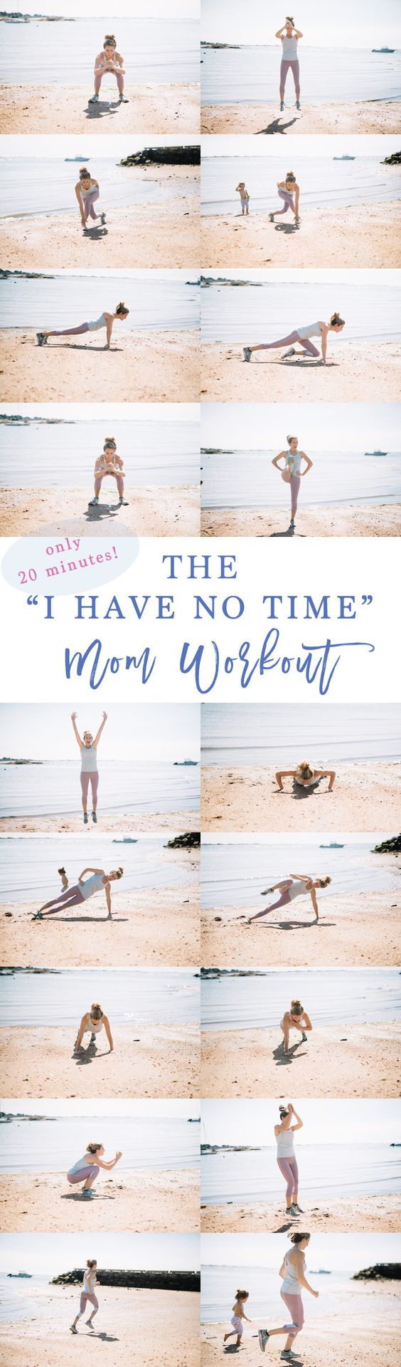 20 minute workout for busy moms // Tabeta Workout