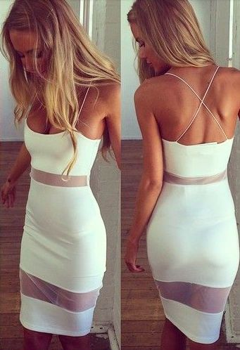 Fashion Women Summer Backless Casua