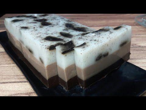 Puding Oreo Milo Tersimple 3 Lapis Enak Youtube Makanan Oreo Puding