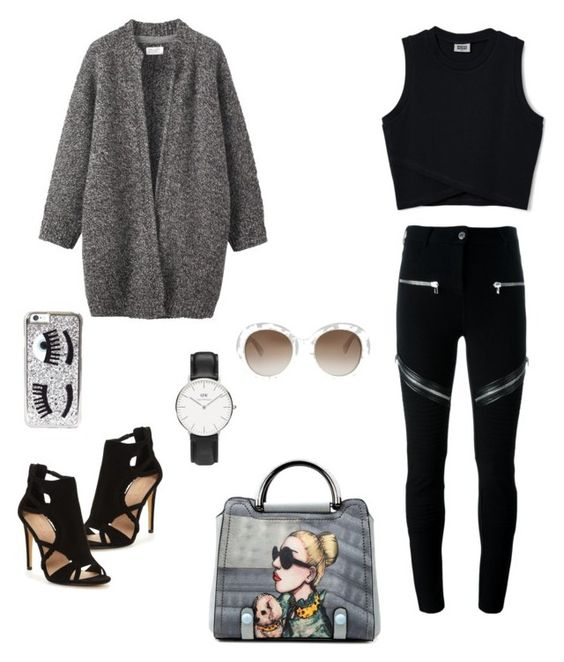 """Untitled #5"" by risma-dania on Polyvore featuring Givenchy, Toast, Chiara Ferragni, Gucci and Daniel Wellington"
