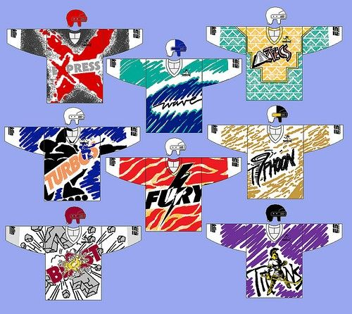 roller hockey team jerseys
