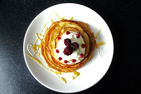 Why not make protein pancakes. A healthy alternative to normal pancakes and provides you with enough protein to help build muscle.