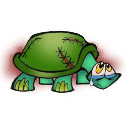 Sad Emo Turtle