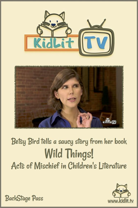 A sneak peek at KidLit TV's exclusive content just for Newsletter subscribers. Because of time constraints, here's a story we weren't able to put into the video!