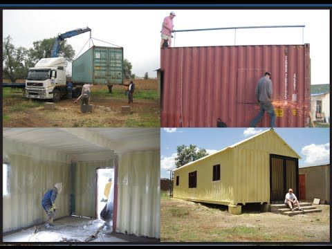Youtube container houses and container homes on pinterest - Grand designs shipping container home ...