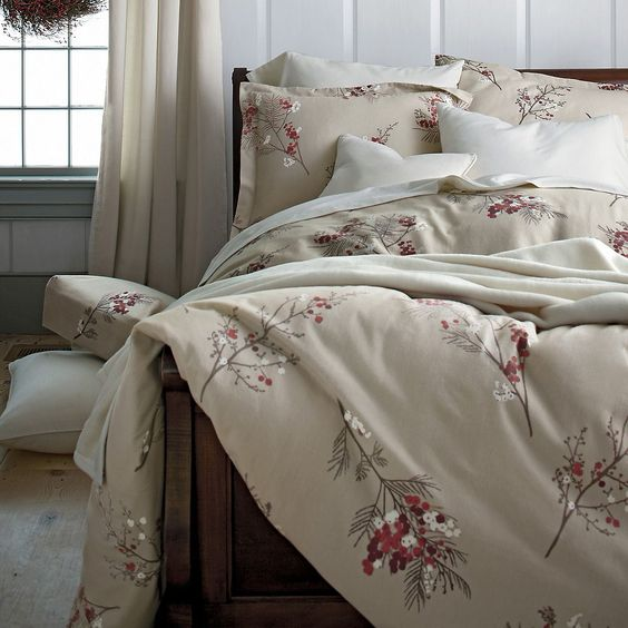 Pineberry Flannel Sheets Amp Bedding The Company Store