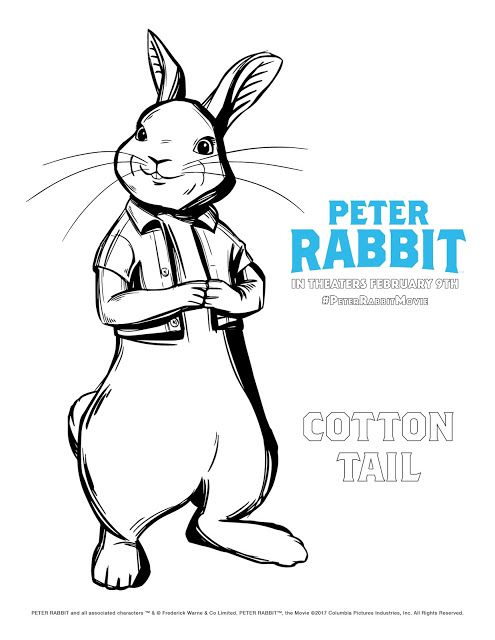 Peter Rabbit Screening Win Reserved Seats At Ua King Of Prussia Peter Rabbit Movie Rabbit Colors Coloring Pages