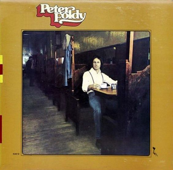 Peter Foldy - same CANADA 1974 Lp nm more mint