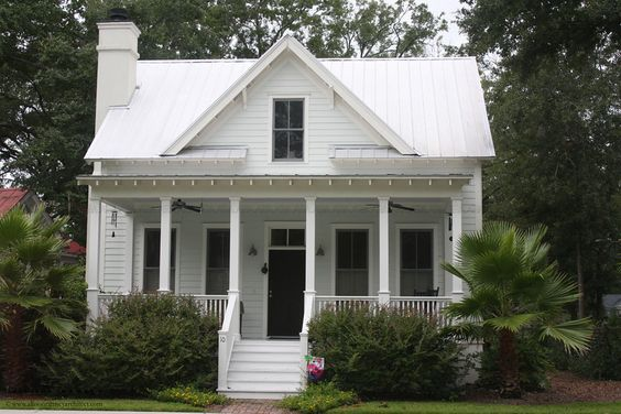 Starter Home, Little White And White Cottage On Pinterest