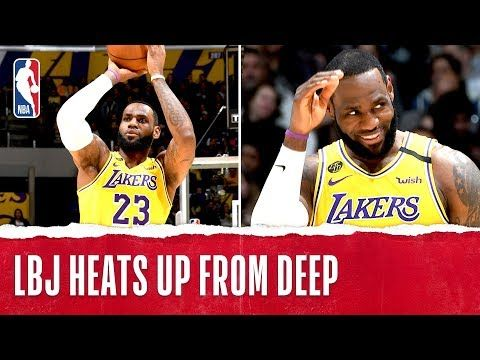 Lebron Goes Off From Downtown Youtube In 2020 Nba League Pass Lebron Los Angeles Lakers