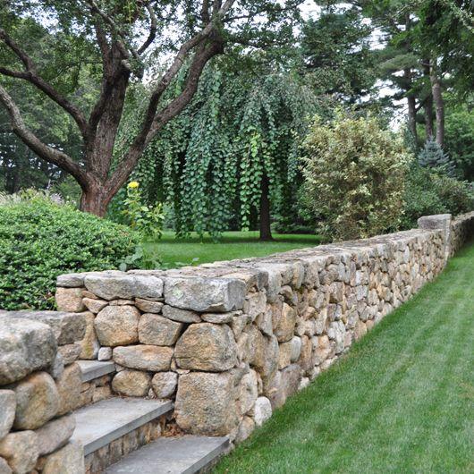 Landscape Stone Walls