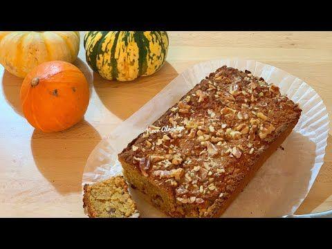 خبز اليقطين كيتو لو كارب حساسية القمح والسكري Keto Pumpkin Bread Youtube In 2021 Banana Bread Food Desserts
