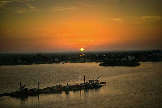 Sunrise Over Estero Bay in Florida