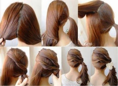 Tremendous Pony Tails Hairstyles For School And For Kids On Pinterest Hairstyles For Women Draintrainus