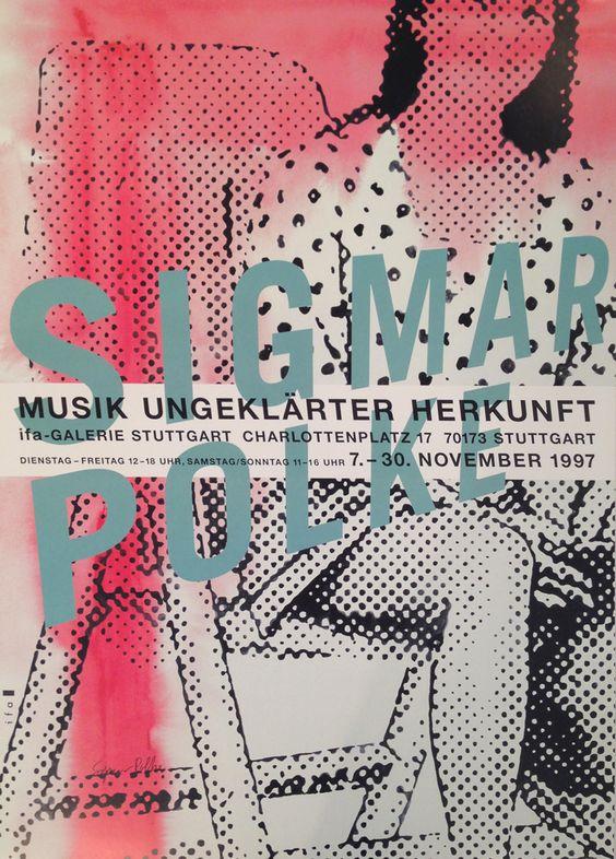 SIGMAR POLKE - MUSIK UNGEKLÄRTER HERKUNFT (MUSIC UNEXPLAINED ORIGIN) - ROBERT FONTAINE GALLERY http://www.widewalls.ch/artwork/sigmar-polke/musik-ungeklarter-herkunft-music-unexplained-origin/ #print