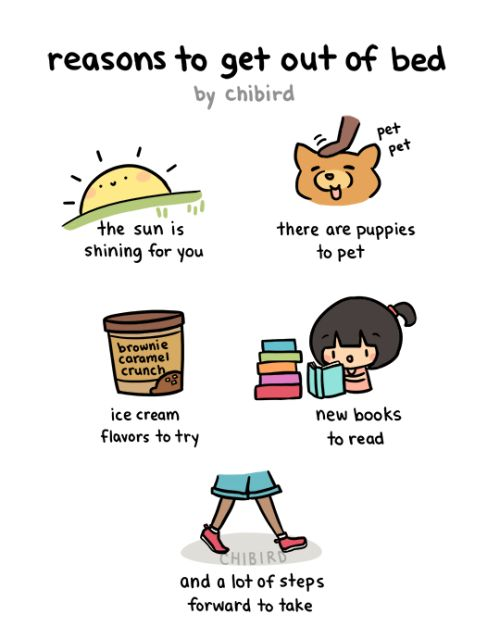 Just a few reasons to start the day! :D