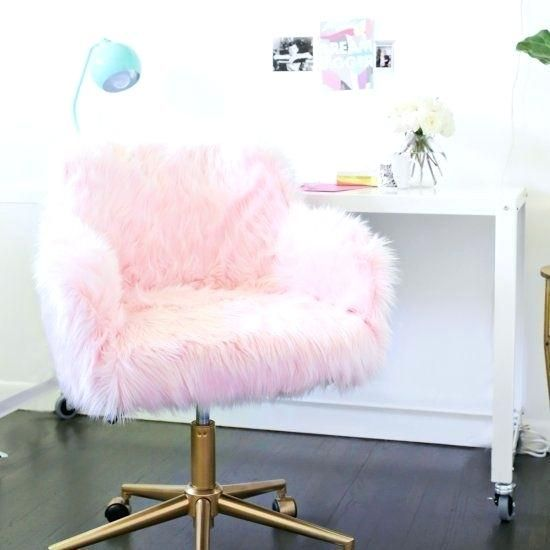 Architecture Pink Fluffy Chair Girls Room Decor Ideas To Change