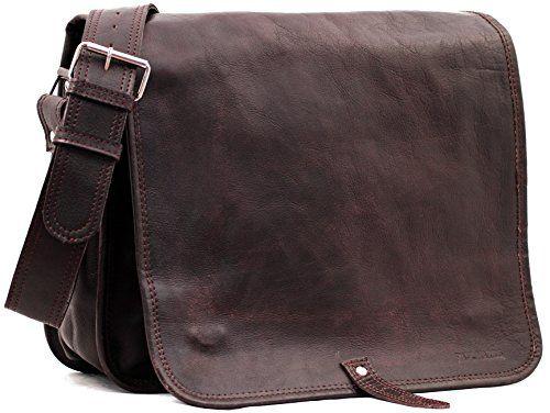 Messenger (L) INDUS Vintage-Ledertasche Handtasche Schultertasche Umhängetasche PAUL MARIUS Vintage & retro