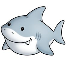 cute great white shark - photo #21