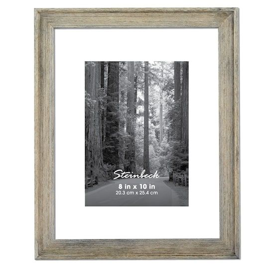 Thin Grey Steinbeck Frame By Aaron Brothers 8 X 10 Michaels Frame Frames On Wall Aaron Brothers