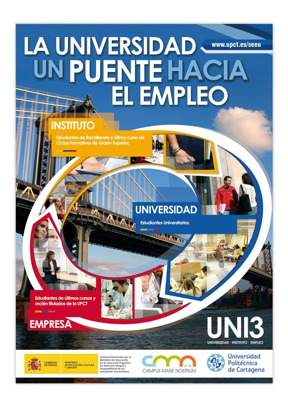 UNI3: La Universidad un puente hacia el empleo (Itinerario integral para no perderse en el camino)