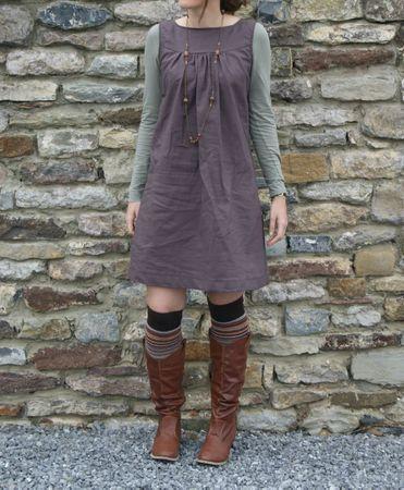 petite robe en lin