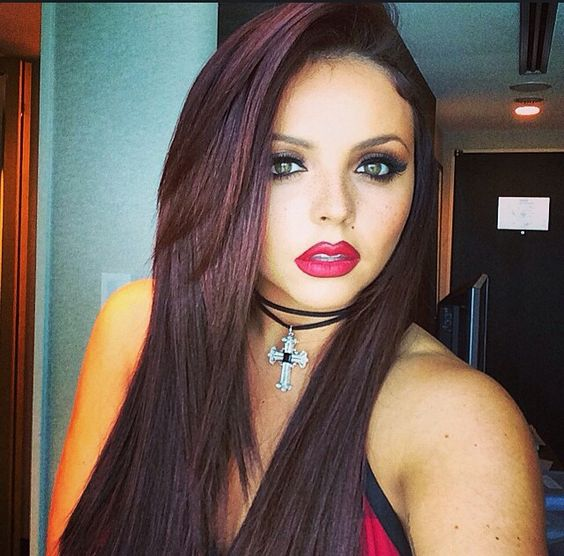 Jesy Nelson. Her makeup is awesome