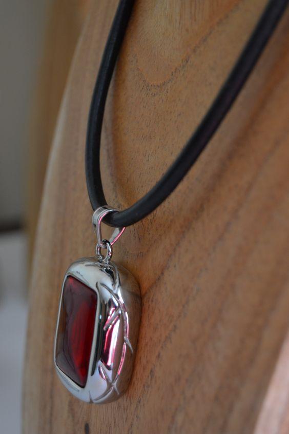 www.limye.com  acero 316L-piedra preciosa-cordón de cuero legítimo