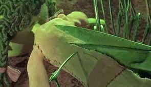 A segunda mãe de Coraline, refazendo a boneca novamente para ficar igual a coraline