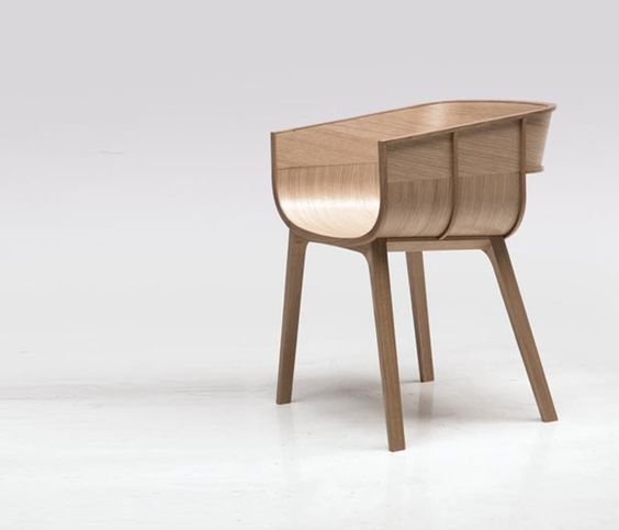 | FURNITURE | CHAIR | Photo Credit: Unknown. (please let mw know orignal source so that I can include appropriate credit) Adore the #wood #BenjaminHubert #chair