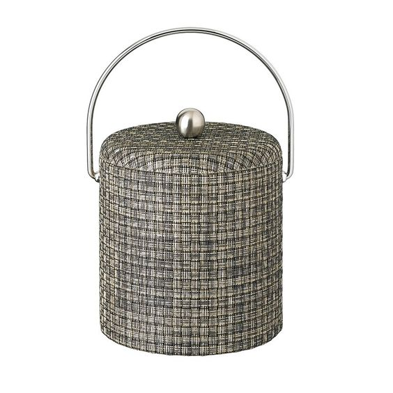 Kraftware Woven 3 qt. Fabric Lid Ice Bucket