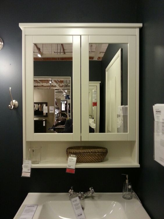 Best Ikea Hemnes Mirror Cabinet With 2 Doors 170 Also In 400 x 300