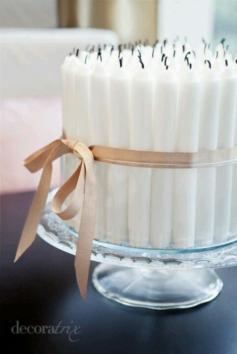 How to get 60 candles for a 60th birthday on a cake