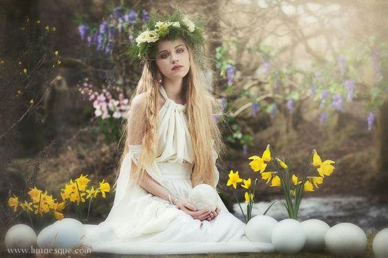 Ostara - Lunaesque Photography: