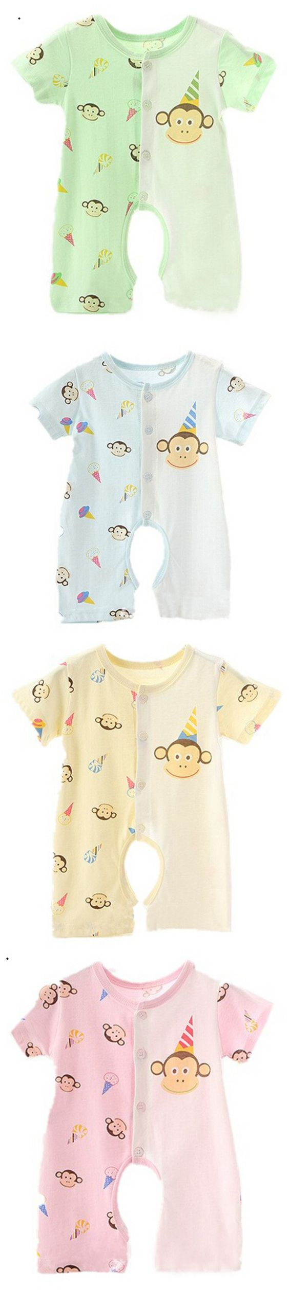 0-3 Yrs High Quality Cotton Baby Romper Medium Long Sleeve Baby A Grade Cloth JumpSuit Toddler O Collar Climbing Suit