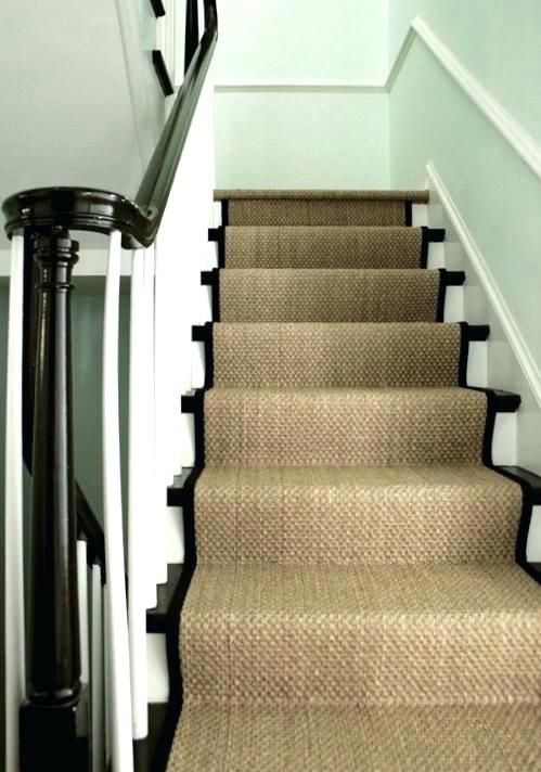 Choose Chic Carpet Runners For Stairs Stairs Design Stair | Black And White Stair Carpet | Interior Design | Light Grey | Unusual | Design | Beautiful