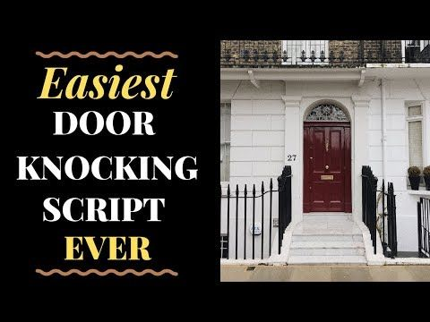 Door Knocking In Real Estate Can Be A Top Way To Start Generating Seller Leads Fast This Face To Fac Real Estate School Real Estate Agent Beginner Real Estate