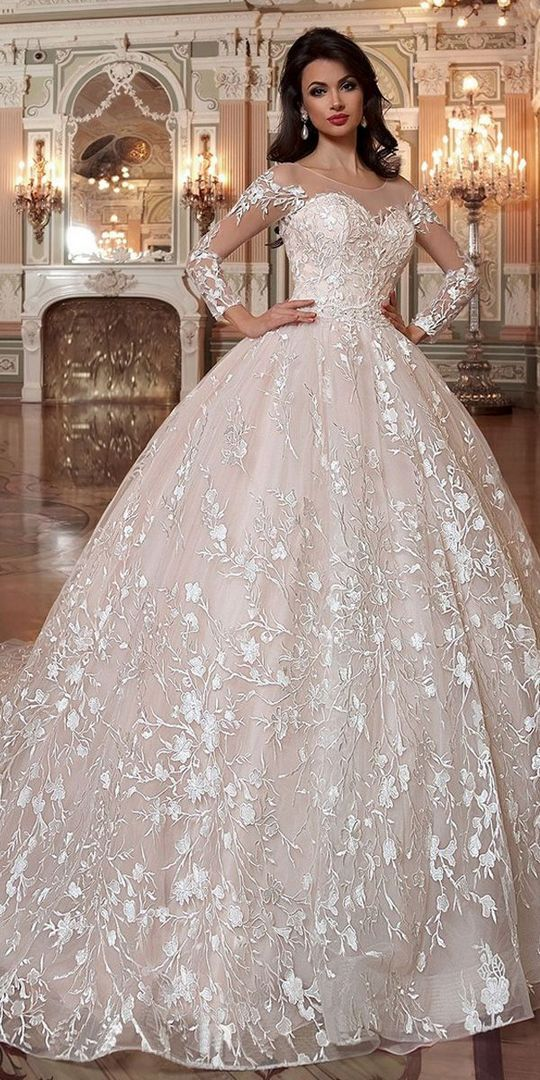 The Advantages of Wedding Dresses Ball Gown Lace Princesses Bridal