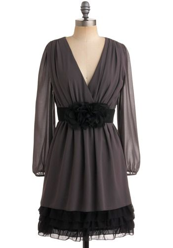 Grey and black!   Great dress and affordableeeee!
